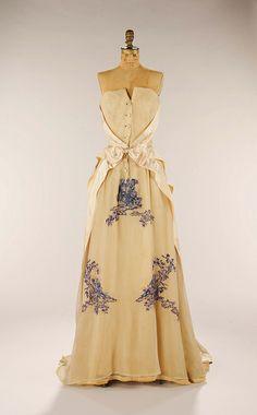 Hubert de Givenchy, evening dress, 1953