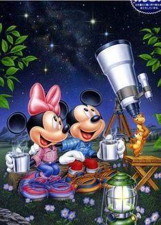 Walt Disney, Disney Magic, Disney Art, Disney Movies, Mickey And Minnie Love, Mickey Mouse And Friends, Mickey Minnie Mouse, Retro Disney, Cute Disney