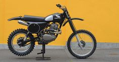 The Honda XL500 has achieved near-legendary status. Its front wheel is a ridiculous 23 inches, and it's far too heavy for serious competition—but the engine is bulletproof and lives up to the old 'stump-pulling grunt' cliché.