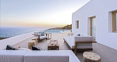Luxury villa Mykonos island dream exterior amazing view