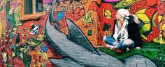"""12 Amazing Toronto Murals You Have To See With Your Own Eyes - """"Extraordinary art murals are painted on buildings, alleyways, bridges and public spaces. Artists paint unique street art, enlightening Toronto with colorful illustrations and creative, unique pieces."""""""