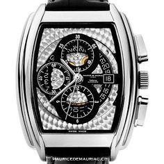 Maurice de Mauriac Tonneau XL Chronograph Skeleton  For more watches, visit our website:  http://mauricedemauriac.ch/