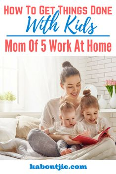 It may seem impossible to get anything done when you first have a baby, but over time you learn how to manage to get things done. This awesome video on how to get things done with kids is by a work from home mom of 5 kids. This certainly makes her qualified to share solid tips for other moms.  #mompreneur #mommytips #gettingthingsdone
