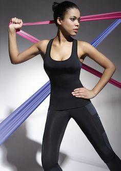 Débardeur de Sport Femme qualité BAS BLEU teamtop 70 5 coloris  Hauts  Debardeur Noir 27c04421901