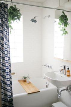 Michelle LeBlanc and Chris Riemenschneider's Minneapolis Home: Bathroom | Design Sponge
