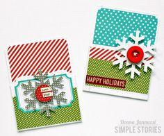 Gift Card Holders {Simple Stories} - Scrapbook.com
