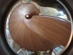 Curved Wood, Stairs, Mirror, Google, Furniture, Home Decor, Stairway, Decoration Home, Room Decor