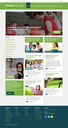 WordPress 3.x Theme #48547