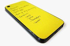 Dry Erase phone Cases...