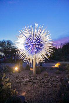 Chihuly in the Garden, Desert Botanical Garden, Phoenix, AZ