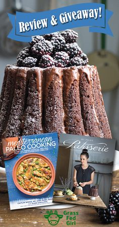 Paleo Dessert Book Review and Giveaway |  https://www.grassfedgirl.com/paleo-desserts-book-review/