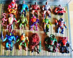 Masters of the Universe Mattel Vintage