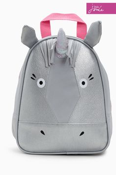 5c663a543e6e Buy Joules Grey Buddie Unicorn Rucksack from Next France Kool Kids