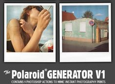 Polaroid_GENERATOR_V1_by_rawimage Free Photoshop Actions For Photographers (80 of The Best)