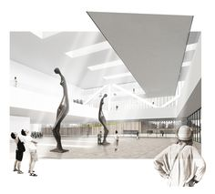 Concurso Parque y Centro de Exposiciones y Convenciones by Eva Lucas Segarra, via Behance