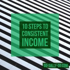 10 Steps to Have Consistent Income in Your Business:  1 Have multiple freebies that rotate and lead into your program offer or products. 2 Update your social posts with focused themes every few weeks.  3 Offer value in multiple formats.  4 Update your prior blogs with new links challenges and new media.  5 Connect with people you've spoken with in the past. You never know when they're ready for what you have to offer.  6 Don't be sales-y all the time. Just give value. Those who respond are…