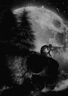 Dark forest, glow of the lake, an eternal dance of death What Lies Beneath, Nature Tattoos, Dark Art, Surrealism, Dreaming Of You, Beautiful Pictures, Tumblr, Black And White, Wallpaper