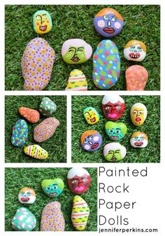 DIY painted rock pap