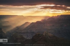 South Rim Light by Pcoskun  Arizona Clouds Desert Grand Canyon Grand Canyon National Park Landscape Light Monsson Nature Peter C