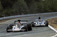 Emerson Fittipaldi Jackye Stewart Zolder 1973