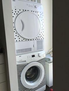 Decorar lavadora y secadora