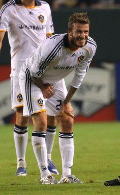 La ocasión en que David Beckham se hizo cargo de sí mismo. | 14 momentos inesperadamente íntimos del fútbol