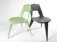 Pythagoras chair   Designer: Sander Mulder - http://www.sandermulder.com