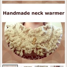 Handmade neck warmer. Ready to ship now! Crochet neck warmer. This ones ready to be shipped u less u want a different color. Items ship within 2-3 days. Payments are taken upfront. Extra $5 for any designs added. Thank you. @miami_wife is my other closet, I'm a suggested user top 10% seller and 2x party host. Trusted & honest seller. Handmade Accessories Scarves & Wraps