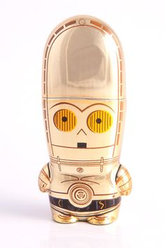 Mimobot C-3PO MIMOBOT Designer USB Flash Drive 8GB >> This is awesome!