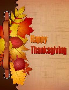 Happy Thanksgiving eGifter greeting card!