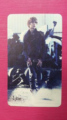 TEENTOP L.JOE Official Photo Card Teen Top 1st Mini IT'S ITS Photocard RARE