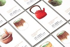 Cha Philosophy 吾穀茶糧 小缽擂茶哲學. Teek: makin' individual cards like this could be good in terms of specifics of a project. Get some art in, a lil writin'.