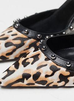Sapato tacão estampado - Special price - CALÇADO - Uterqüe Portugal