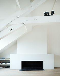 ~ Definitive Structure. Anne Derasse, Architect #Architecture #Design #Interiors #White #Minimal
