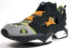 "Reebok Insta Pump Fury ""Tiger Camo"" x Mita Sneakers - EU Kicks: Sneaker Magazine"