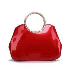 QIAOBAO Brand Women s Patent Leather Shoulder Bag Luxury Handbags Women Bags  Female Tote New Designer b78c2f8cb62f7