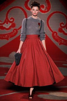 Ulyana Sergeenko | Fall 2012 Couture Collection | Vogue Runway