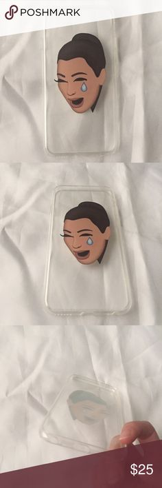 🆕 Kim Kardashian iPhone Case 🆕 Brand new & unused iPhone case with Kim Kardashian crying emoji on the back! It will fit an iPhone 6 or 6S. Silicone material and covers all edges of the phone (you'll be protected in case of a fall). I have a seperate listing for a similar case with Kim's famous butt selfie emoji. Listed as the brand Brandy Melville for views/exposure only, no listed brand. Please leave any questions down below! Happy Poshing 💋 Brandy Melville Accessories Phone Cases