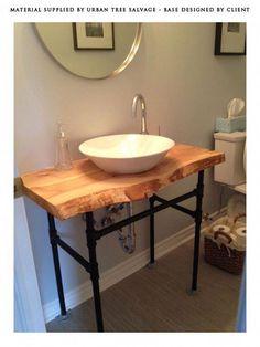 Diy wood bathroom vanity top wood vanity top amazing bathroom vanity tops ideas toilet ideas home . Decor, Wood Countertops, Diy Bathroom, Vanity, Bathroom Countertops, Wood Bathroom Vanity, Reclaimed Wood Countertop, Bathroom Decor, Wood Bathroom