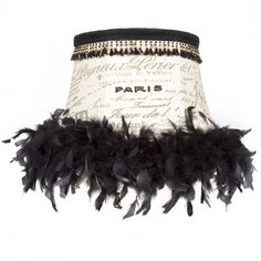 Brandi Renee Designs - All Lit Up Ooh LaLa Lampshade - Who doesn't love Paris?  Love this look.  Goes great with a colorful room.