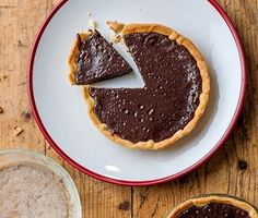 Baked Chocolate Tart Recipe - A traditional tart recipe that couldn't be easier to make.<br><br>Follow our step-by-step guide and you'll be on your way to making a magnificent baked chocolate tart in minutes. Our chocolate tart recipe is a great dessert to wow your friends at dinner parties. You can make it too! Click for the recipe »