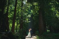 Forest wedding ceremony at Nestldown private retreat, Santa Cruz mountains // Lindsey and Tyson's Woody Wedding Redwood Wedding, Woodsy Wedding, Wedding In The Woods, Forest Wedding, Wedding Pictures, Diy Wedding, Wedding Ideas, Wedding Forrest, Wedding Ceremony