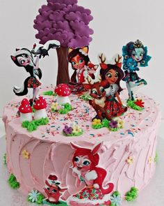 Garden Birthday, Baby Birthday, Birthday Parties, Birthday Cake, Disney Princess Party, Doll Party, Themed Cakes, Party Cakes, Food Art