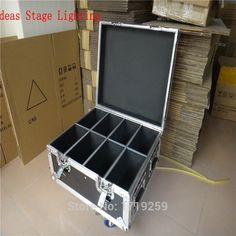 165.00$  Buy here - http://aifox.worlditems.win/all/product.php?id=32794603306 - Flight Case  Put the number of 8 pieces LED Flat Par (empty)