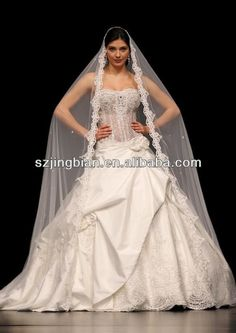 muslim wedding dresses  1.sheer bodice crystals  2.fabric:satin,lace  3.color:all colors  4.satin with lace skirt