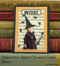 Halloween Artist Trading Cards Guide — craftbits.com