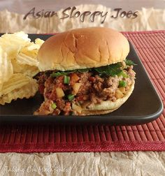 Asian Sloppy Joes | Taking On Magazines | www.takingonmagazines.com | These sloppy joes have an Asian flair and make a fantastic, quick lunch or dinner for the whole family.