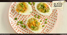 This stuffed egg recipe contains the right amount of protein, healthy fat and antioxidants for the perfect party appetizer. http://recipes.mercola.com/how-to-make-deviled-eggs.aspx