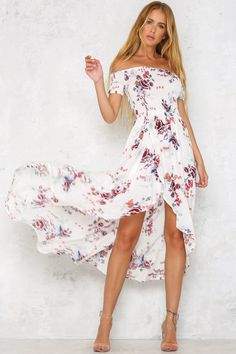 Hello Molly   Skipping Home Maxi Dress White