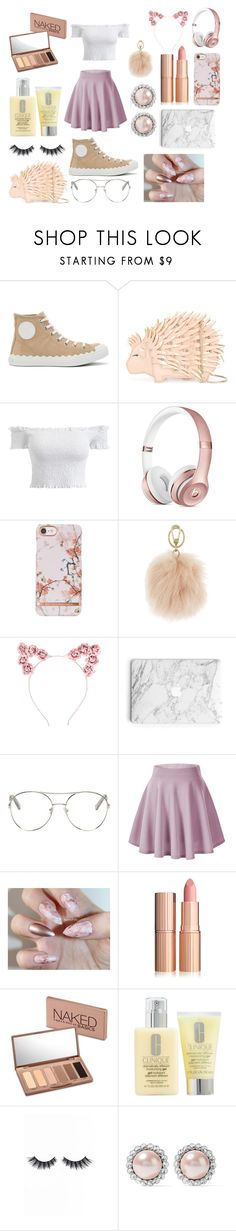 """""""CUTE PINK SUMMER SET"""" by lxilxjxbbins on Polyvore featuring Chloé, Kate Spade, Furla, Hot Topic, Urban Decay, Clinique, Violet Voss and Miu Miu"""